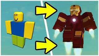How to Become IRON MAN in Roblox!!