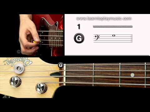 04 - Bass Tuning 1st String (G Note)