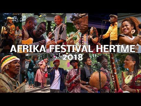 AFRIKA FESTIVAL HERTME 2018 - ONE song OF EACH artist