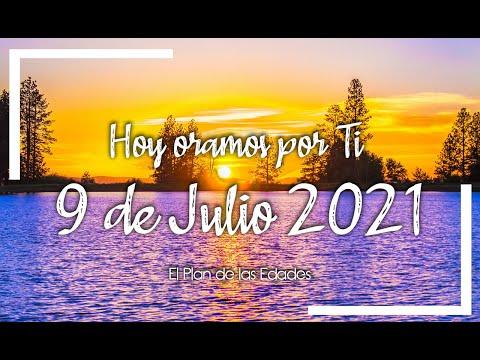 HOY ORAMOS POR TI | JULIO 9 de 2021 |  Oración Devocional | NO MÁS TRISTEZA