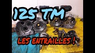 2# TUTO REVISER UN 125 TM KZ demontage haut et bas moteur