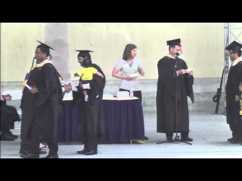 Haas School of Business MBA Commencement Ceremony 2014