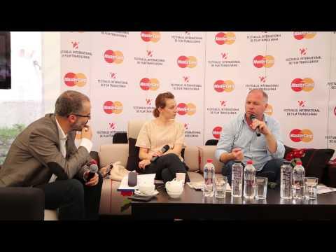 Vlad Ivanov Anamaria Marinca la TIFF Lounge 2014
