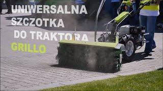Uniwersalna szczotka 100 cm do traktora jednoosiowego Grillo