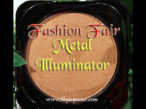 Fashion Fair Metal Illuminator Swatches