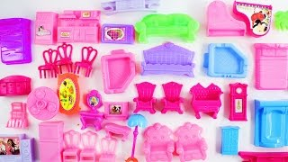 MY DOLLHOUSE FURNITURE HAUL - TOYS REVIEW