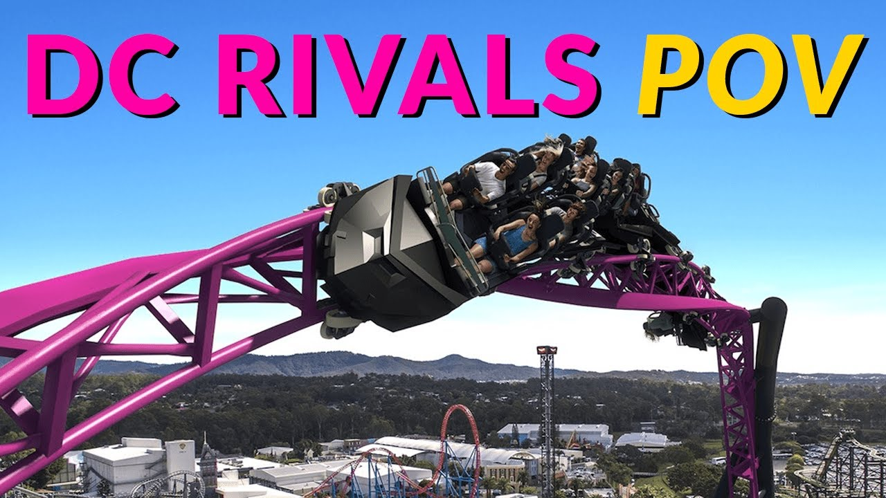 Dc Rivals Hypercoaster Pov Warner Bros Movie World Gold Coast