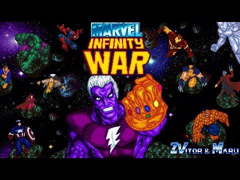 Marvel Infinity War OPENBOR Playthrough - STORY MODE
