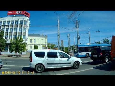Витебск.Поездка на троллейбусе