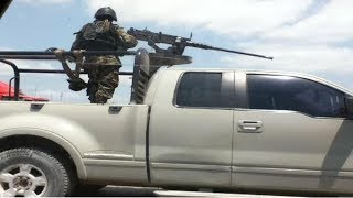 Graban Balaceras y Narcobloqueos Militares vs Cartel del Golfo en Monclova