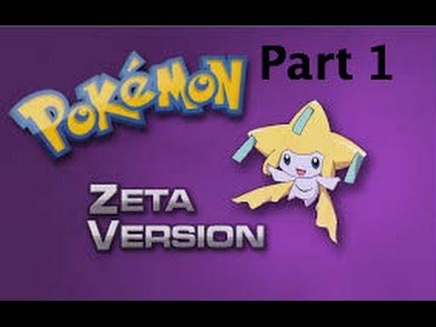 Pokemon Zeta Gameplay/Pokethrough W/Darthbennigan Part 1