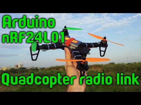 Arduino + nRF24L01 + quadcopter