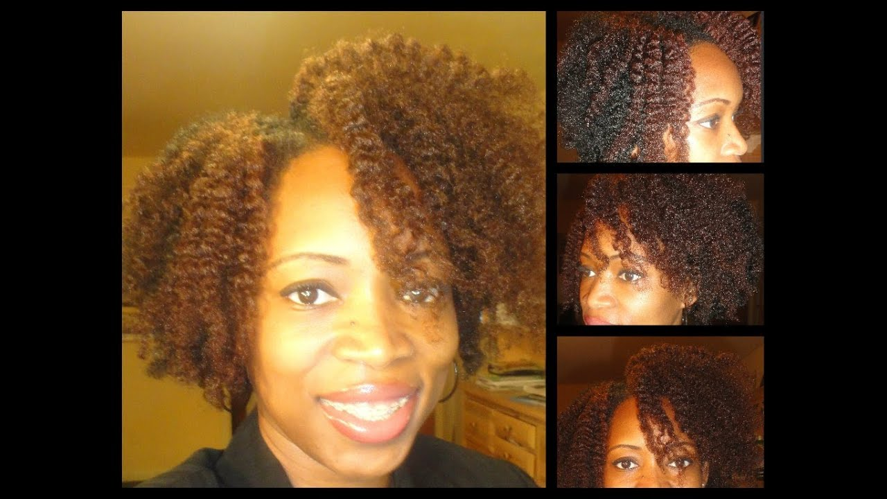 147 Fluffy Flat Twist Out Type 4b 4c Natural Hair