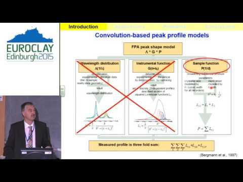 Euroclay 2015: Reinhard Kleeberg - Pioneer in Clay Science Lecturer