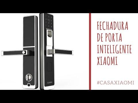 Casa Xiaomi Fechadura Inteligente De Porta Com Impress 227 O