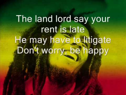 Bob McFerrin Dont Worry, be Happy with lyrics original