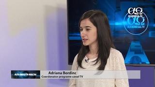 Adriana Bordinc - Despre munca din spatele canalului Alfa Omega TV