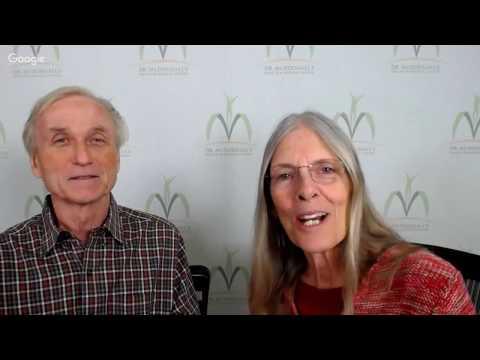 Dr. McDougall & Mary McDougall Share their Story, Webinar 01/05/17