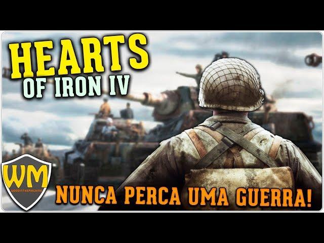 NUNCA PERCA uma guerra | HOI4 Tutoriais #01 - Gameplay PT BR