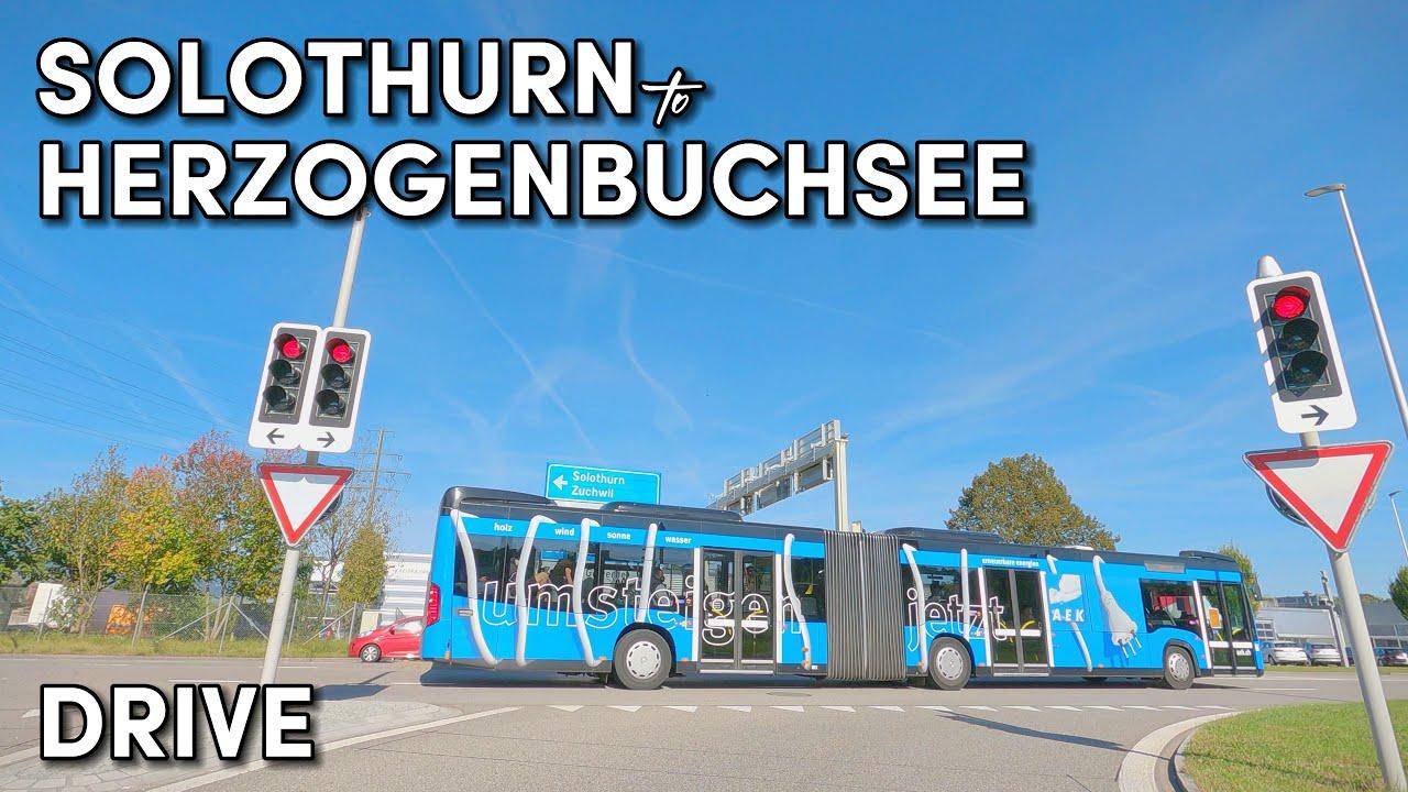 Download Solothurn to Herzogenbuchsee - Scenic Drive - Switzerland