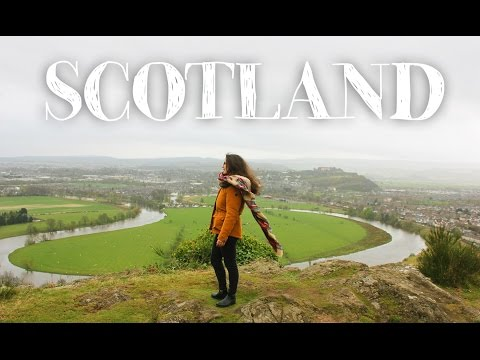 SCOTLAND | Edinburgh, Stirling & Glasgow | Let's Travel #16