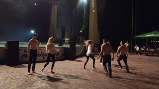 Rechitsa.Fest 2018. Шоу-балет под дождем «Эрос»