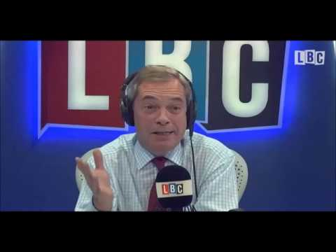 Nigel Farage Discussing UK's Crazy Population Growth