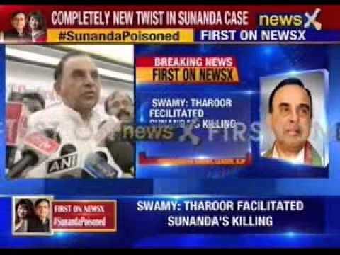 Sunanda Pushkar Case: Shashi Tharoor knows who killed Sunanda: Subramanian Swamy