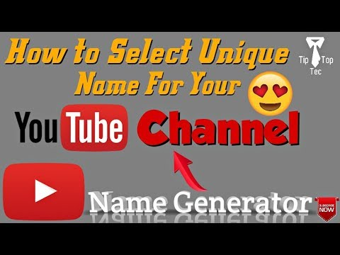 YouTube Channel Name Generator (Tamil)