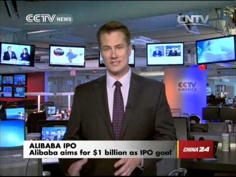 Crossover: Alibaba aims for $1 billion as IPO goal