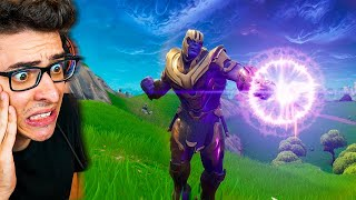 MATEI O THANOS E ROUBEI A MANOPLA DO INFINITO!! Fortnite: Battle Royale