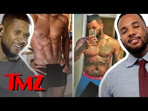 Usher vs. The Game – A Wang-Off!