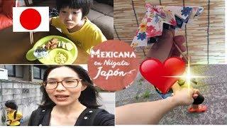 De novios +  sombrilla en origami+videoblogJapon