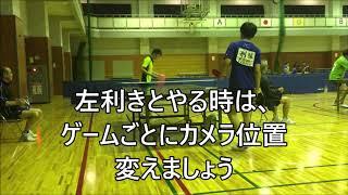 【素早い!】刑部康生(青木信用金庫)との試合 1・2ゲーム目
