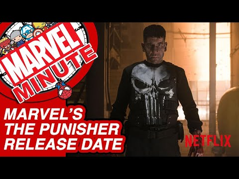 """""""Marvel's The Punisher"""" Release Date & More - Marvel Minute 2017"""