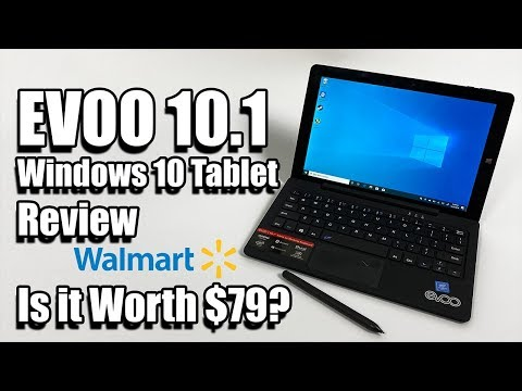 EVOO 10.1 Windows 10 $79 2 in 1 Tablet Review - Is It Any Good?