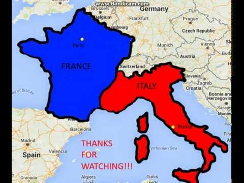 relationship between italy and france