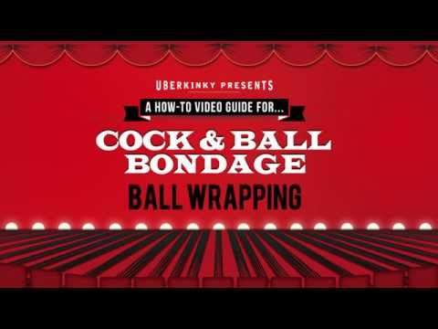 UberKinky Cock & Ball Bondage: Ball Wrapping