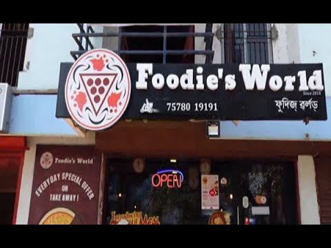 #PizzaHub #Foodie #Guwahati  The Advertica with Foodies World