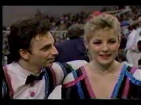 Tracy WilsonRob McCall  1988 World Championships
