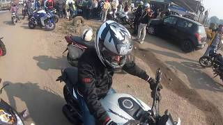 BIKE ACCIDENT INDIA   Charoti Breakfast Ride