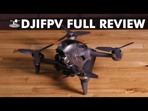 FIRST EVER DJI FPV Drone - New Cinematic FPV Drone For Beginners   Full Review