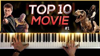 Top 10 Soundtracks On Piano (Pt. 1)
