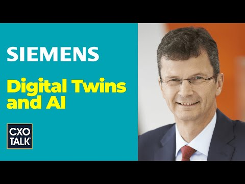 Digital Twin and AI for Manufacturing with Siemens (CxOTalk)