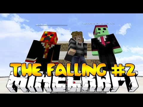 Minecraft THE FALLING #2 (DROPPER PARKOUR TROLLS) w/Kenny,Preston & Pete!