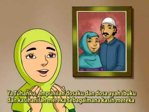 Doa Untuk Orang Tua Kumpulan Doa Anak Animasi Kartun Youtube