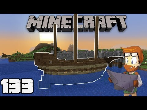 Building With FWhip : BUILDING A BOAT #133 MINECRAFT 1.13 Let's Play Single Player Survival