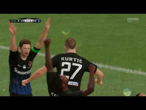 Atalanta 1-1 Everton - 1-0 GOAL: Jasmin Kurtić