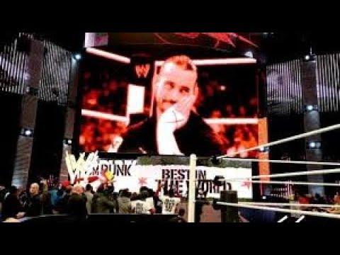 WWE raw 2017 cm punk return Chicago
