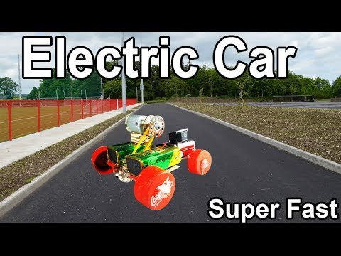 How To Make A Super Fast Electric Car Using Dead Batteries